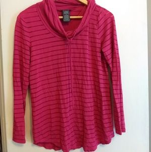 Striped Athletic Style Shirt